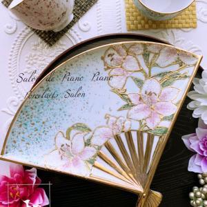 【季節の器】今月はお正月を意識して・・コラレン風の「和」のセット♡