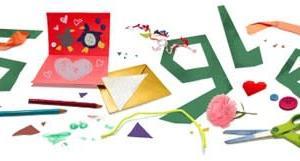 Googleのロゴ.. 父の日を祝いましょう!