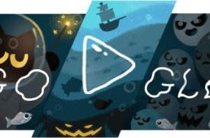 Googleのロゴ.. 2020年ハロウィーン