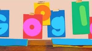 Googleのロゴ..2021年父の日