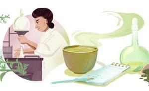 Googleのロゴ..辻村みちよ生誕133周年