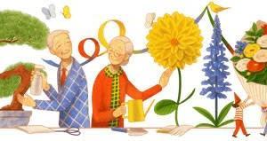 Googleのロゴ..2021 年敬老の日