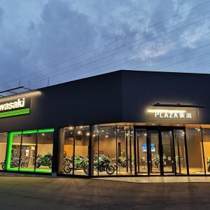 カワサキのバイクが洗練された店内に勢揃い!新潟市中央区に「カワサキプラザ 新潟店」がオープン!