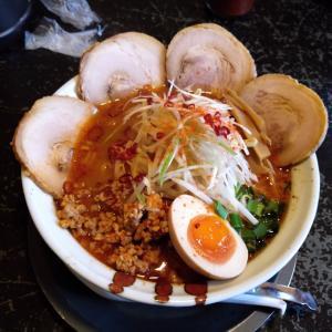 新潟市東区「ラーメン 樹よし」で冬限定のシビ辛味噌を食べた!