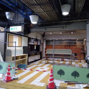 万代バスセンター1階の改修工事が本格化!