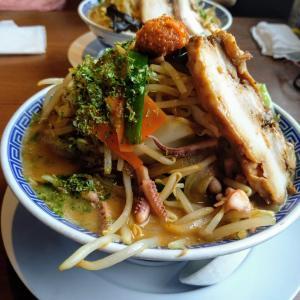 新潟市東区「麺屋 仁」で山盛りのらし味噌タンメンを食べてみた