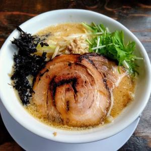 新潟市東区の「中華そば ふじの」で期間限定の白山味噌らーめんを食べた!