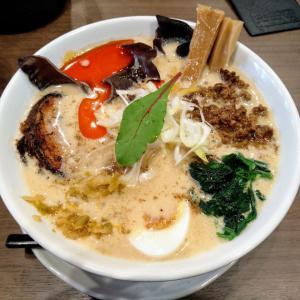 新潟駅南にある「麺匠MAJIDE」の琥珀担々麺のうまさに感動!