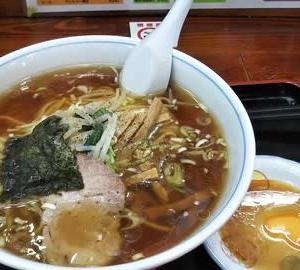 上石神井 一圓 Bセット(醤油ラーメン+餃子)【20190825】