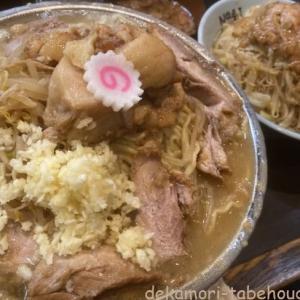 自家製麺No11(板橋区)【デカ盛り】富士丸系二郎系店の麺増しで殺されかける【大食い】