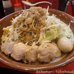 豚ゆう(北本市)【デカ盛り】ド乳化超濃厚スープ神豚の二郎系ラーメン店