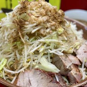 豚ラーメン蕨店【デカ盛り】濃厚豚スープの二郎系つけめん麺マシ【大食い】