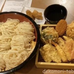 香の川製麺【デカ盛り】大食いチャレンジメニュー天ぷら全種類8玉うどんwithDracöaco