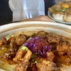 鶏力【デカ盛り】大食いチャレンジメニュー激熱土鍋鶏白湯ラーメン+チャーシュー丼【完食者ゼロ】
