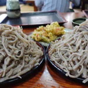 かどや(太田市)【老舗】超極太で短く硬い形状記憶剛麺そばデカ盛り2個大食い