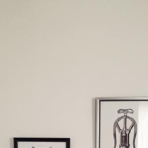 賃貸の壁に、粘着フックで額を飾りたい!