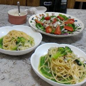 ブロッコリーのペペロンチーノ