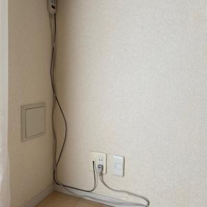 Wi-Fiの配線ケーブル。