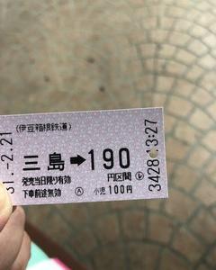 久しぶりに切符を買った