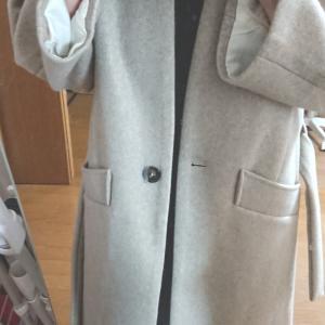 新しいコートをゲットしました。