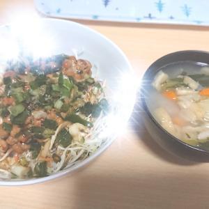 毎日同じものを食べています。