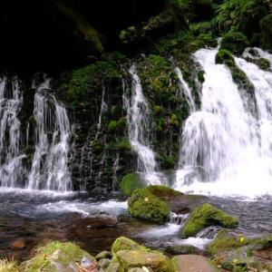 鳥海山麓の元滝伏流水