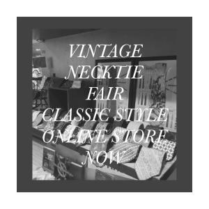 60's USA Vintage Paisley Print Skinny Wool Neck Tie BROOKS BROTHERS MAKERS