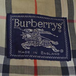 UK 80's BURBERRYS Vintage Balmacaan Coat