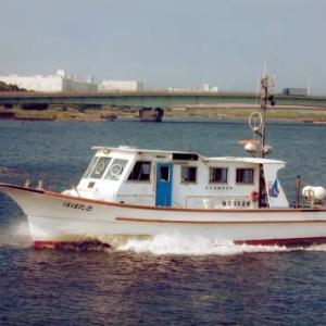 パトロール艇(はばたき)安全点検を実施しました。(羽田空港舟艇基地)