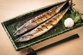 秋刀魚塩焼き無料