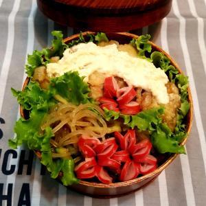 チキン南蛮丼の弁当。