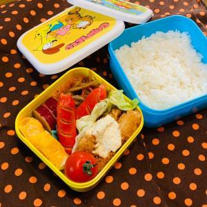 児童館弁当とイクラちゃん。