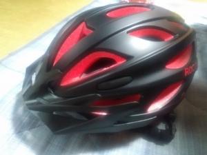 ヘルメット到着