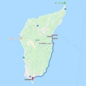 ヴェルちゃんで奥尻島を走る2