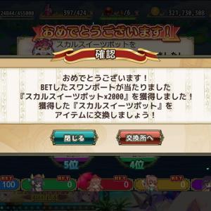 花騎士:スワンボートレース『ハロウィン・カップ 予選4日目』の予想