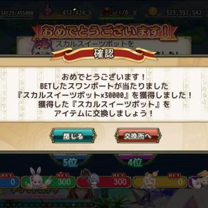 花騎士:スワンボートレース『ハロウィン・カップ 予選6日目』の予想