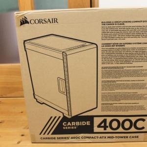 PCケース コルセア Corsair Carbide 400C White