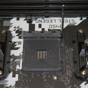 自作PC作成 Ryzen 5 3600編2 ~マザーボードにCPU、CPUクーラー(虎徹マーク2)、メモリ取付け