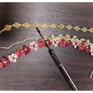 レッスン1~2 クロッシェカフェかぎ針編み認定講座アクセサリーコース