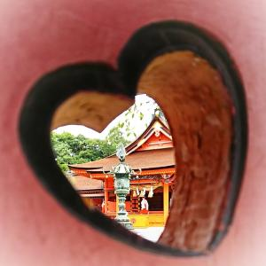 富士山本宮浅間大社のハートを探せ!!  初めての撮影スポット