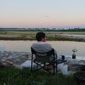 おじさんチームの鮎釣り遠征、釣果は如何に・・・