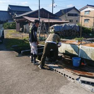 おじさんチーム富山に行く。庄川