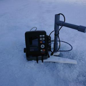 又々釣りシステムの更新、氷上わかさぎ釣り