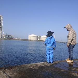 我が弟子、海釣りに挑戦