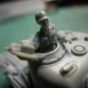 ドラゴン M4A3を作る(砲塔)