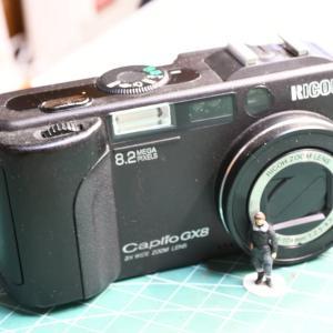 カメラでカメラを撮りました