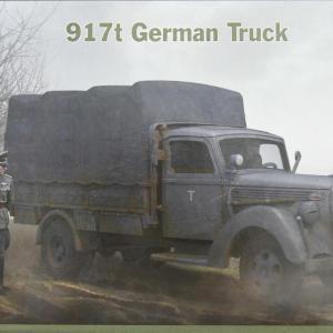 917t German Truckを作る