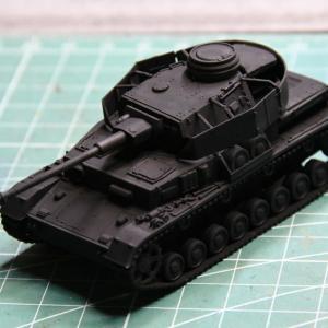 ドラゴンIV号戦車H型(1/72)を作る