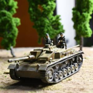 III号突撃砲F型を作る