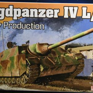 1/72 IV号駆逐戦車のプラモデルを作り比べてみる